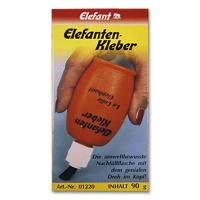 Elefant Bottle with Brush All-Purpose Glue 90g