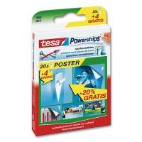 Tesa PowerStrips Poster 20 pcs.