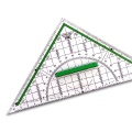 Set Square 22 cm, green handle