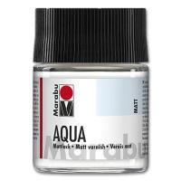 Aqua-Mattlack 50 ml Glas