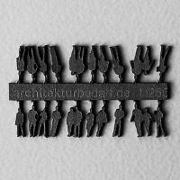 Figures, 1:250, black