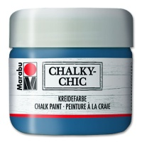 Marabu Chalky-Chic 225 ml, rauchblau