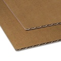 Corrugated Cardboard brown, 2,5 mm