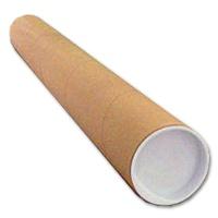 Versandrohr Pappe 320 mm Länge