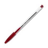 Bic Crystal red