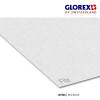 Bastelfilz 4 mm weiß
