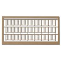 Railings 1:100, Type 1, light brown