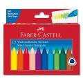 Triangle Wax Crayons, 12 pcs.