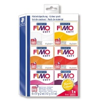 Fimo Soft Set Warm Colours