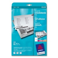 Laser and Copiers Foil, matt transparent