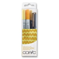 Copic Ciao Doodle Pack yellow 4er Set