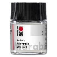 Mattlack 50 ml Glas