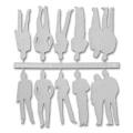 Figures, 1:50, pale grey