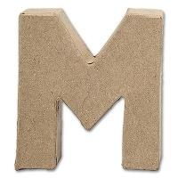 Letter Papier Mâché - M