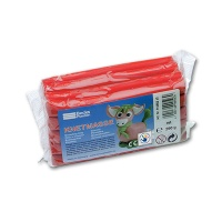 Plasticine 500g red