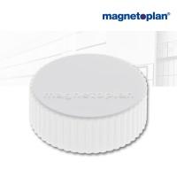 magnetoplan Discofix Rundmagnete magnum, weiß