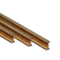 Brass I-Profile 1,0 x 0,6 mm
