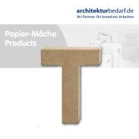 Buchstabe Papier-Mâché - T