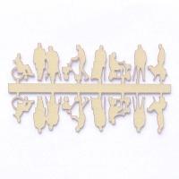 Figuren Senioren, 1:100, beige