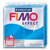 Fimo Effect Transparentfarbe 374 blau