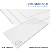 Acrylglas GS  600 x 1200 x 1 mm