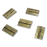 Brass Miniature Hinge 9 x 20 mm
