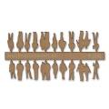 Figures, 1:200, light brown