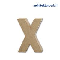 Buchstabe Papier-Mâché - X