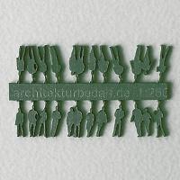 Figures, 1:250, dark green