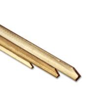 Brass L-Profile 1,5 x 1,0 mm