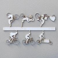 Bicycles Type 2, 1:100, white