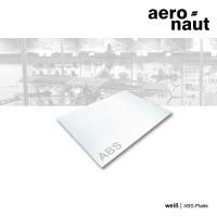 ABS-Platte 500 x 400 x 0,5 mm