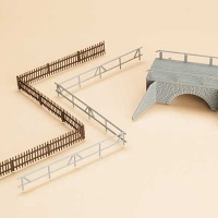 Small Road Bridge with Fences