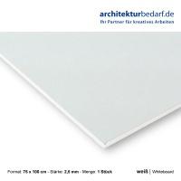 Whiteboard 75 x 100 cm 2,5 mm