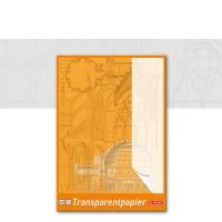 Transparent Paper Pad Herlitz A3