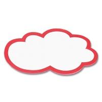 magnetoplan Moderationskarten Wolken groß, 620 x 370 mm