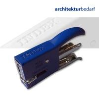 Heftzange MIDI Metall, 24/6-26/6 blau
