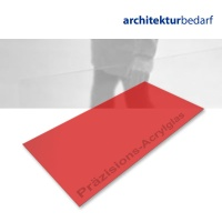 Präzisions-Acrylglas transparent rot