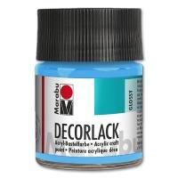 Deco Varnish Acrylic, glossy, No. 090 light blue