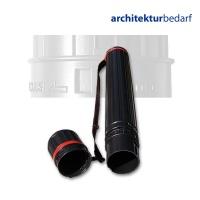 Transportrolle schwarz, Länge 77-125 cm
