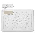 Puzzle A5, white, for DIY Fans