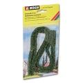 2 Model Hedges, dark green, 10 x 6 mm