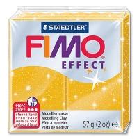 Fimo Effect Glitterfarbe 112 gold