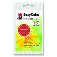 Batikfarbe Easy Color 031 scharlachrot