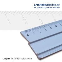 Zeichen- und Schneidlineal 50 cm