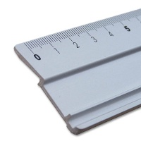 Cutting and Drawing Ruler 30 cm