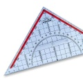 Set Square with Gon-Partition 22,5 cm