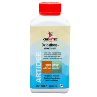 Oxidationsmedium ockerbraun / Grünspaneffekt