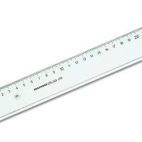 Kunststofflineal transparent Rumo-duo 40cm