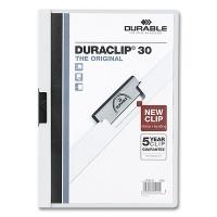 Clip Folder Duraclip 30 - A4 white